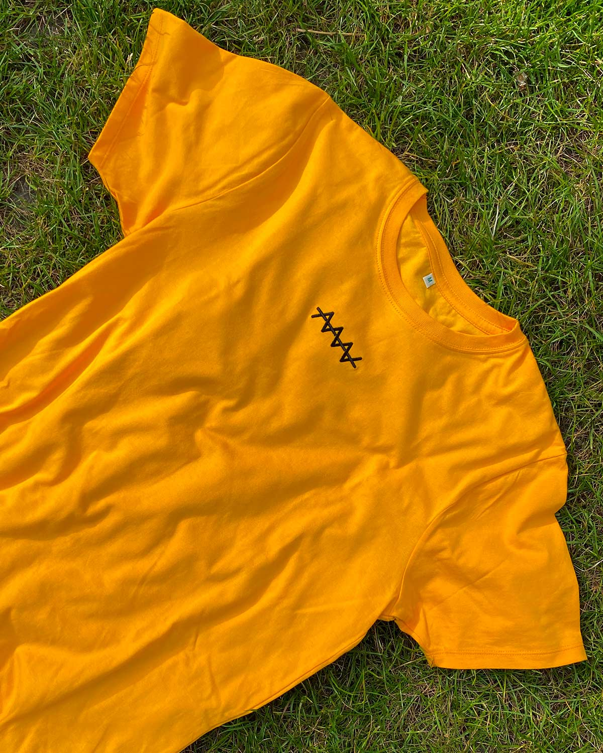 Organic Cotton Shirt / Retro Yellow