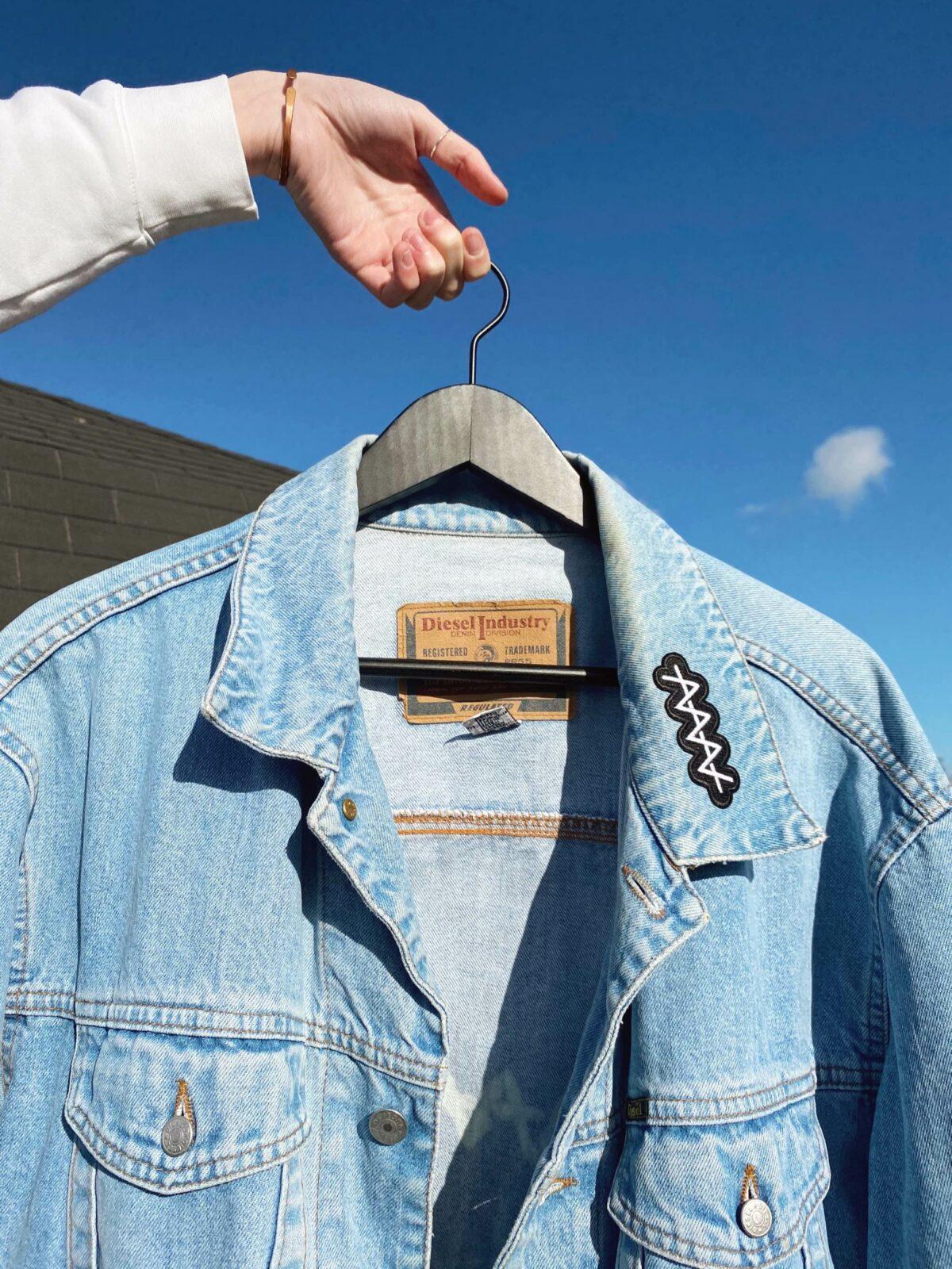 Vintage, one of a kind ANNNA Denim Jacket